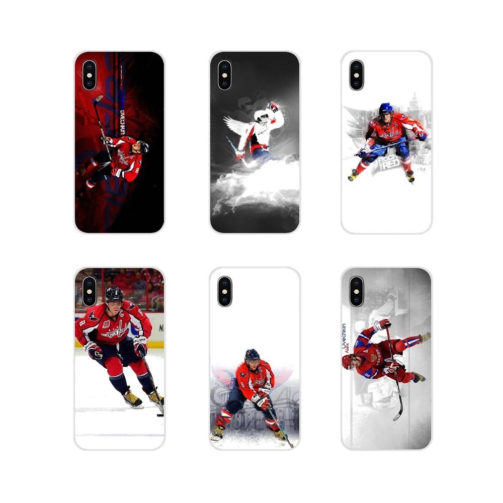 Alexander Ovechkin hockey Star Silicone Phone Case Covers For Huawei Y5 Y6 Y7 Y9 Prime Pro GR3 GR5 2017 2018 2019 Y3II Y5II Y6II(China)