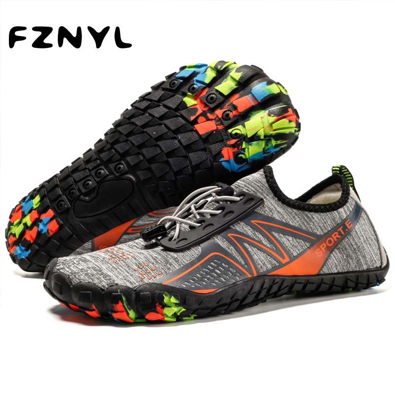 FZNYL Men Women Aqua Shoes Quick Dry River Sea Slippers Diving Swimming Socks Water Shoes Slip On Slides Beach Water Socks Shoes
