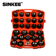 30Pc Oliefilter Removal Wrench Caps Gecanneleerd Cups Socket Remover Automotive Universele Auto Tool Kit Voor Ford Bmw audi SK1506