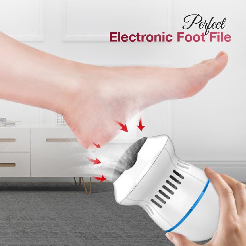Rechargeable Electric Foot Grinder File Vacuum Dead Skin Callus Remover Foot Pedicure Tools Feet Care for Hard Cracked Cleaning