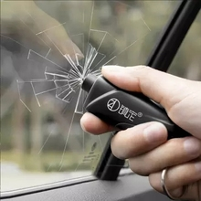 Car Window Breaker Safety Portable Hammer Auto Glass Life Saving Escape Rescue Tool Safe Seatbelt Cutter Key Chain Hammer