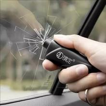 Martillo portátil de seguridad para ventana de coche, herramienta de rescate para Escape, ahorro de vida, cortador de cinturón de seguridad, martillo para llavero
