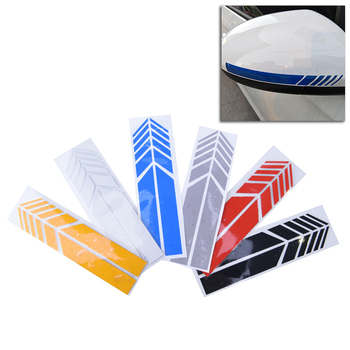 1Pair Auto Graphic Car Sticker Rearview Mirror Side Decal Stripe DIY Car Body Decals Rearview Mirror Sticker Car Styling image