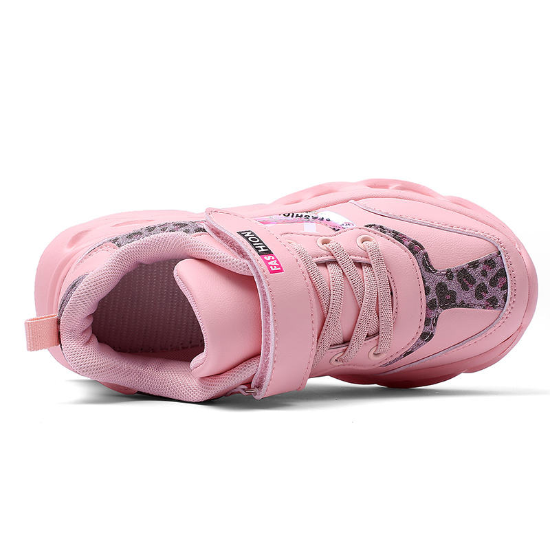 Spring New Kids Pu Leather Shoes Baby Girls Sport Sneakers Children Shoes Boys Fashion Casual Shoes Soft Brand Trainer 5