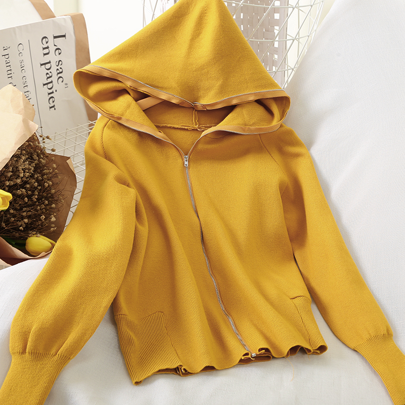 Domple Womens Plain Long Sleeve V Neck Plus Size Lace Up Pullover Hoodies
