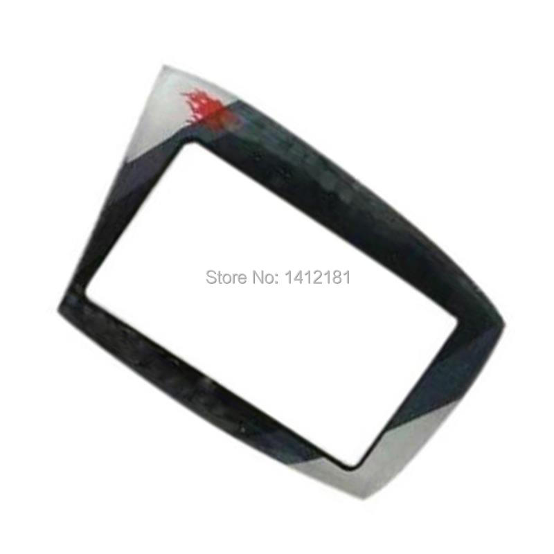 10 PCS/lot Keychain Glass Cover For Scher-Khan Magicar 5 6 Scher Khan Lcd Remote Control Case Russian Version Only Glass