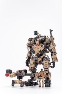 """Image 4 - JOYTOY JT0203 çelik kemik zırh çöl Ver. 9 """"Robot modeli ve sürücü 1/25 aksiyon figürü"""