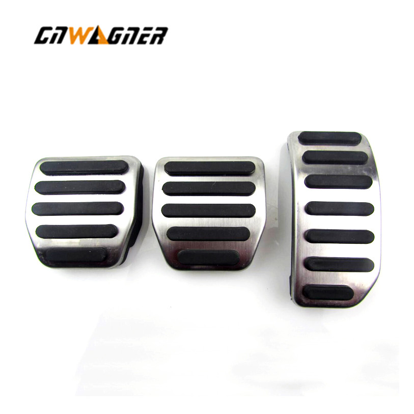 Pedal Kit for <font><b>VOLVO</b></font> S60 S80L <font><b>XC60</b></font> S60L V60 V70 2008 2009 2010 2011 2012 2013 2014 2015 <font><b>2016</b></font> 2017 Manual Transmission Left Hand image