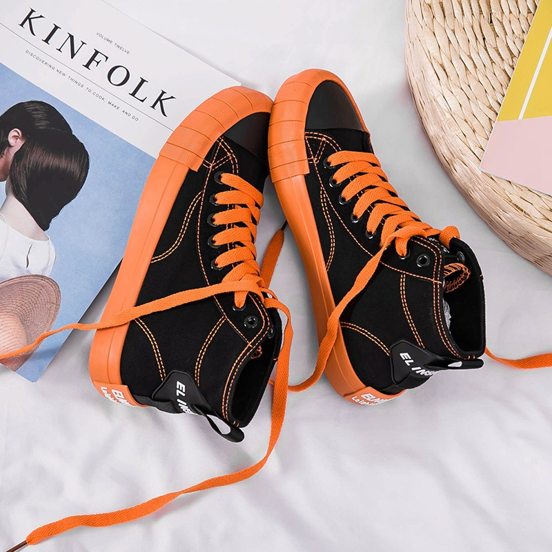 Women Sneakers New Fashion Women Flats Canvas Shoes Breathable Retro Solid Color Trend  Casual Vulcanize Shoes Women's Shoes