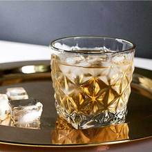 2 шт. бокал для виски es креативный Хрустальный ромб бокал для коктейлей для вина домашний бар посуда для напитков вечерние, Свадебные бокалы es подарок 330 мл