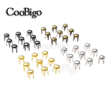 Spike-Studs Clothing Decoration Shoes Outdoor 500pcs 3mm Bag-Parts Rivets Nailhead Craft