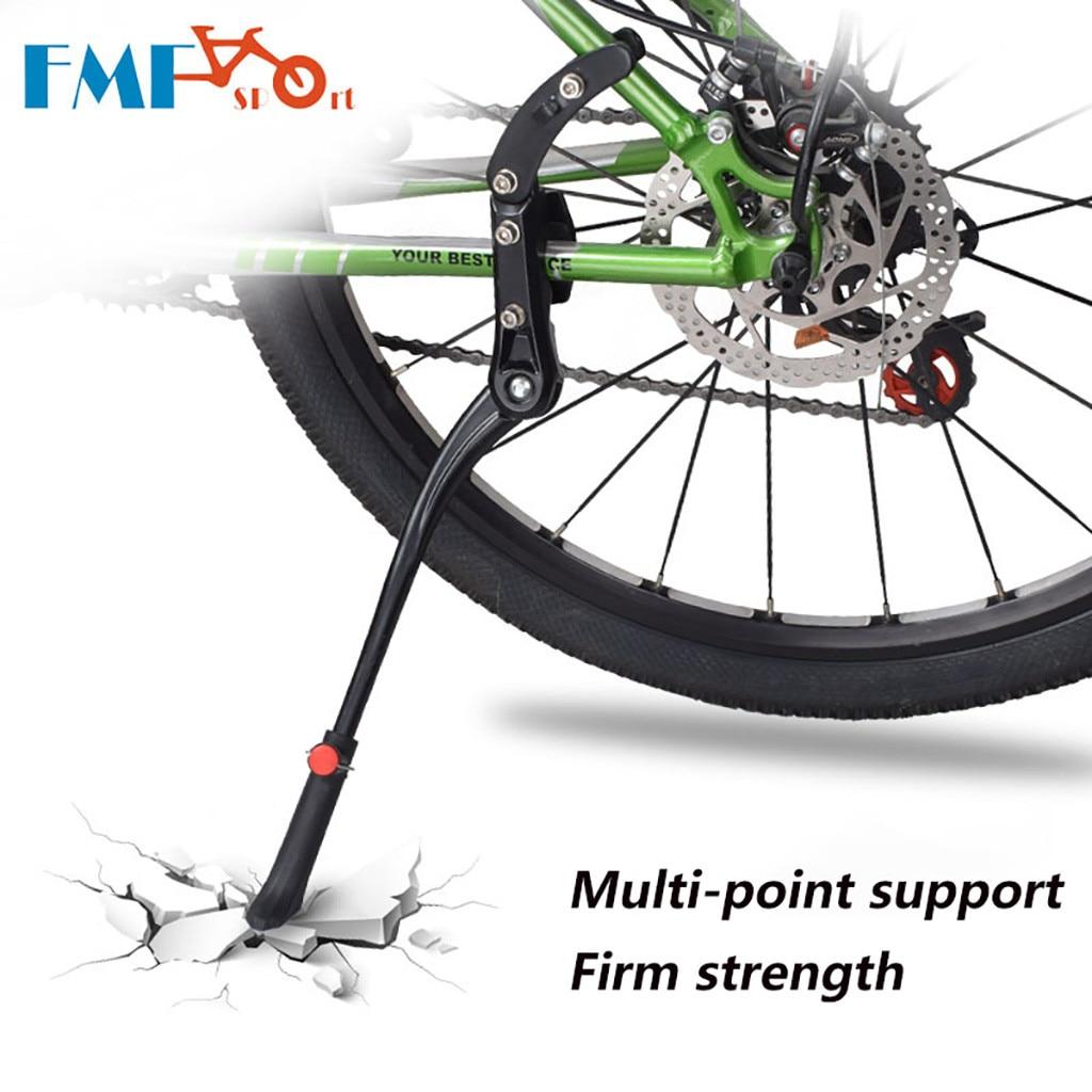 Aluminum MTB Bicycle Bike Side Kickstand Prop Kick Stand Foot Brace Adjustable