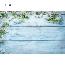 цена на Laeacco Wooden Board Flowers Portrait Food Pet Doll Photography Backgrounds Customized Photographic Backdrops For Photo Studio