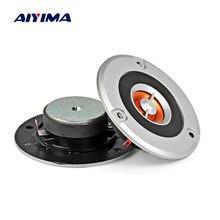 AIYMA 2 pièces 3 pouces Audio Tweeter haut-parleur pilote 4 ohms 20 W Home cinéma KTV HIFI musique MIni haut-parleur