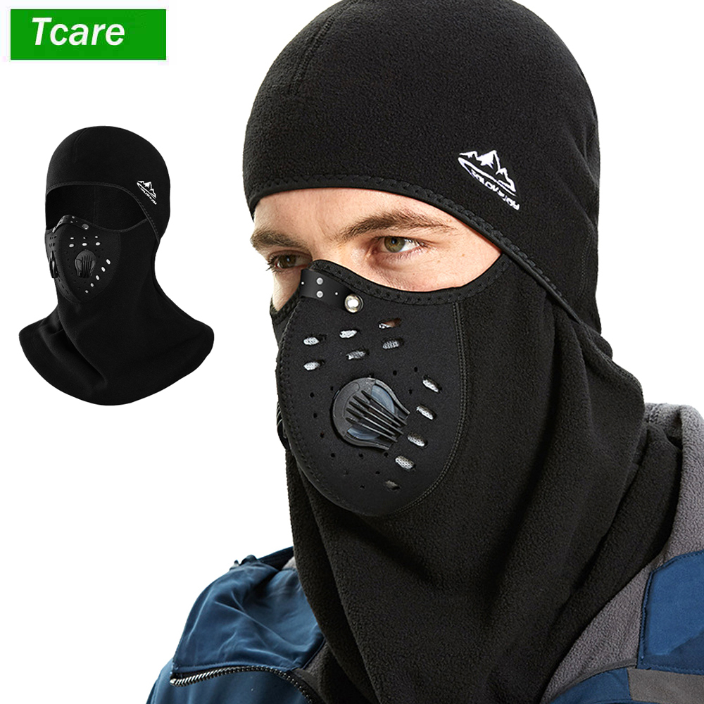 1Pcs Winter Ski Mask Balaclava Outdoor Face Mask With Breathe Valve, Windproof Warmer Hood Extreme Cold Weather Face Mouth Mask