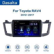"10.2 ""IPS 1 Din אנדרואיד 10 מולטימדיה Autoradio עבור טויוטה RAV4 2014 2015 2016 USB 4GB RAM MAX6 GPS Bluetooth"