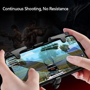 Image 5 - Mobiele Gamepad Legering Joystick Smartphone Gaming Controller Voor Iphone Android Pubg Gamepad Shooter Trigger Knop Controle Handvat