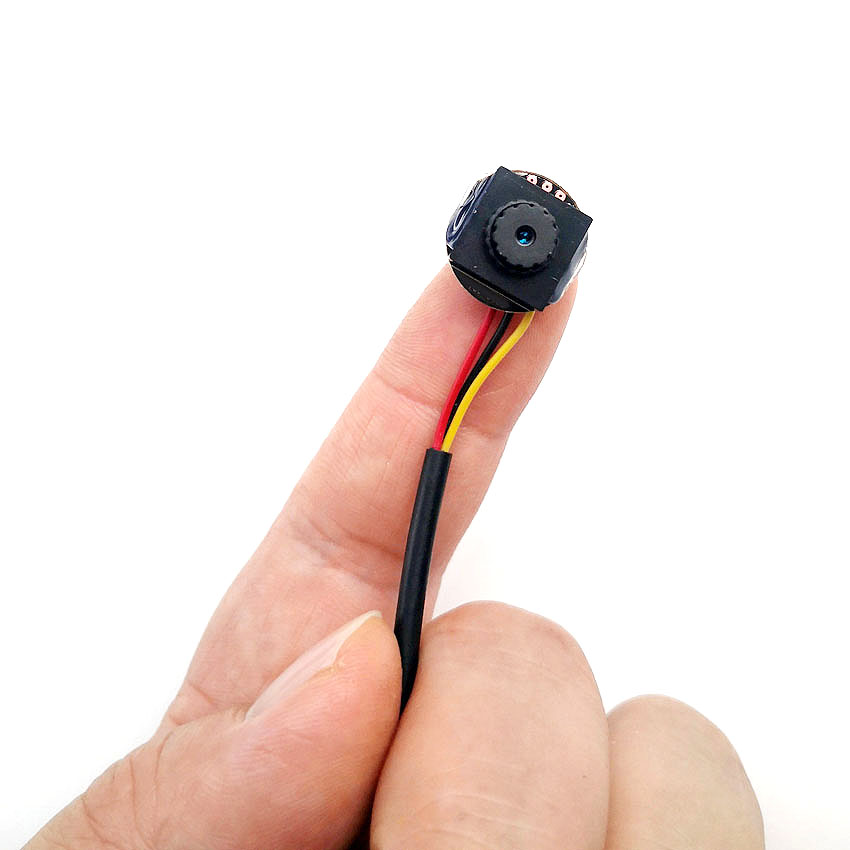 SMTKEY 3.6mm 700TVL Color Micro Mini CCTV Camera Analog CVBS Signal Support To TV Monitor RCA Port Video Camera
