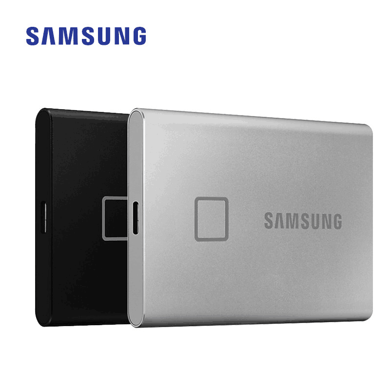 Samsung T7 Touch SSD 500GB 1TB 2TB USB3.2 Fingerprint Recognition Unlock Type C Portable Interface Solid State Drive NVMe SSD|External Solid State Drives| - AliExpress
