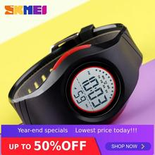 SKMEI Children Waterproof Watch Boys Girls LED Digital Sports Watches Plastic Kids Alarm Date Casual Select Gift for 1556