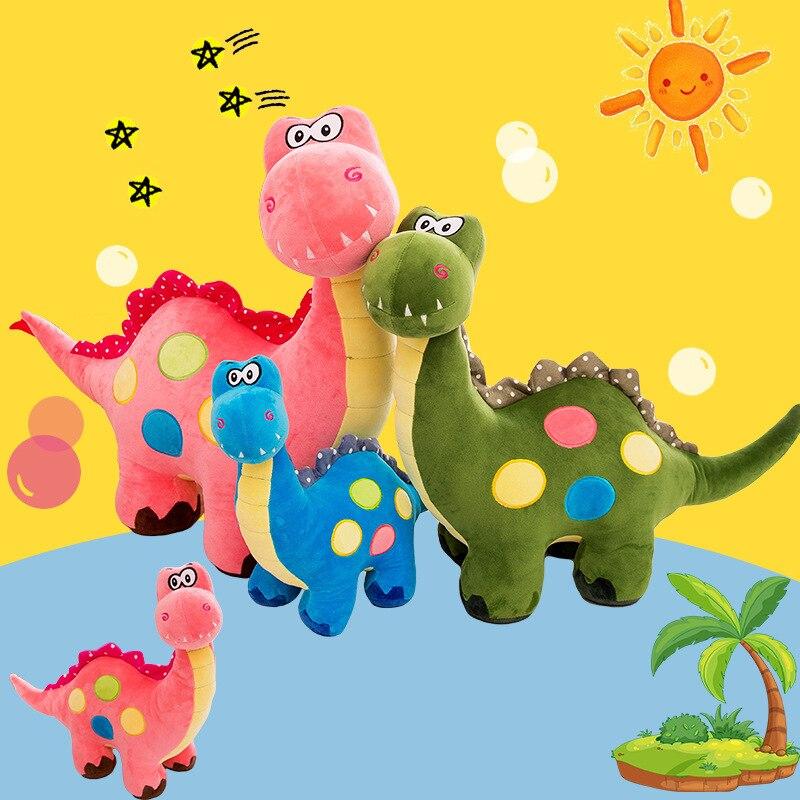 ¡Envío directo! Muñecos de peluche de dinosaurios y animales bonitos de varios tamaños, muñecos de bebé de dibujos animados de dragón y monstruo, juguetes para niños, regalos de cumpleaños Diario de tapa dura de Corea del Sur, cuaderno retro de alce, papelería para regalos creativa, libro de notas azul brillante para estudiantes