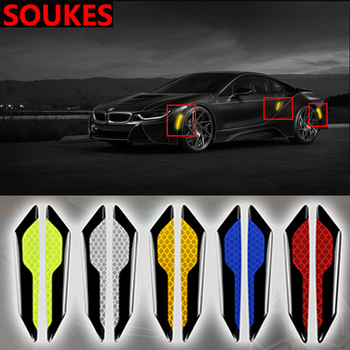 2pcs Car Door Wheel Fender Warning Sticker For Suzuki Swift Bmw F10 X5 E70 E30 F20 E34 G30 E92 E91 M Volvo XC90 S60 V40 S80 image