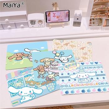 MaiYa Custom Skin Cute Cinnamoroll gamer play mats Mousepad Top Selling Wholesale Gaming Pad mouse