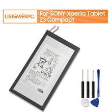 Yelping LIS1569ERPC batteria per Tablet Sony per SONY Xperia Z3 Tablet Compact SGP611 SGP621 batteria per Tablet originale 4500mAh strumento gratuito