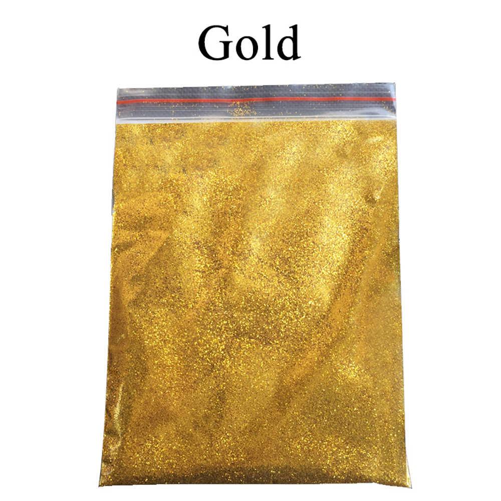 50g ทองเคลือบผง Glitter Pigment ผงสีสำหรับตกแต่งเล็บสีรถยนต์ศิลปะหัตถกรรมผงสีไมกา
