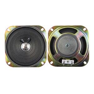 Image 5 - Tenghong 2pcs 4 Inch Portable Audio Speaker 8Ohm 3W Full Range Speaker Unit For Keyboard Broadcast Car Audio Loudspeaker 102MM