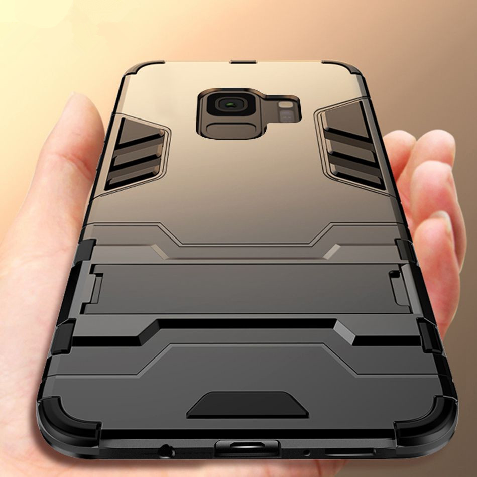 Armor Case For <font><b>Samsung</b></font> Galaxy S8 S9 Plus S7 Edge Note 8 9 Phone Case For <font><b>Samsung</b></font> J3 J5 J7 2017 A3 A5 2017 <font><b>Back</b></font> <font><b>Cover</b></font> Coque Capa image