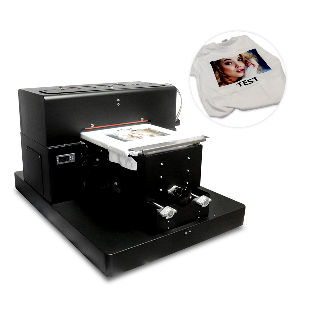 옷을위한 A3 크기 평상 형 트레일러 인쇄 기계 DTG - 사무용 전자 제품 - 사진 1