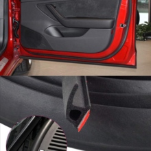 Car Accessories For Tesla Model 3 Door Seal Kit Soundproof Rubber Weather Draft Seal Strip Wind Noise Reduction Kit