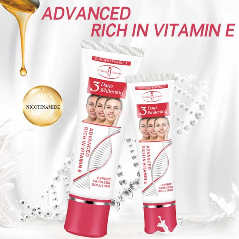 Vitamin E Facial Cream Repair Fade Freckles Remove Dark Spots Melanin Remover Brightening 3 Days Whitening Moisturizing Face