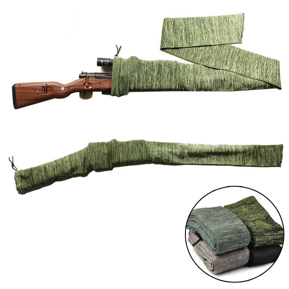 54 Inches Polyester Gun Sock Rifle Shotgun Moistureproof Protector Gun Bag Tactical Hunting Shooting Fishing Rod Gun Cover Case