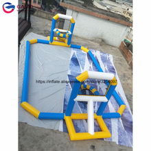 Free shipping 12m giant inflatable water basketball court customized floating water inflatable basketball game inflatable floating water game cheap inflatable water park for sale