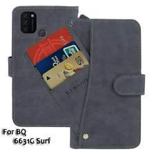 Leather Wallet BQ 6631G Surf Case 6.53