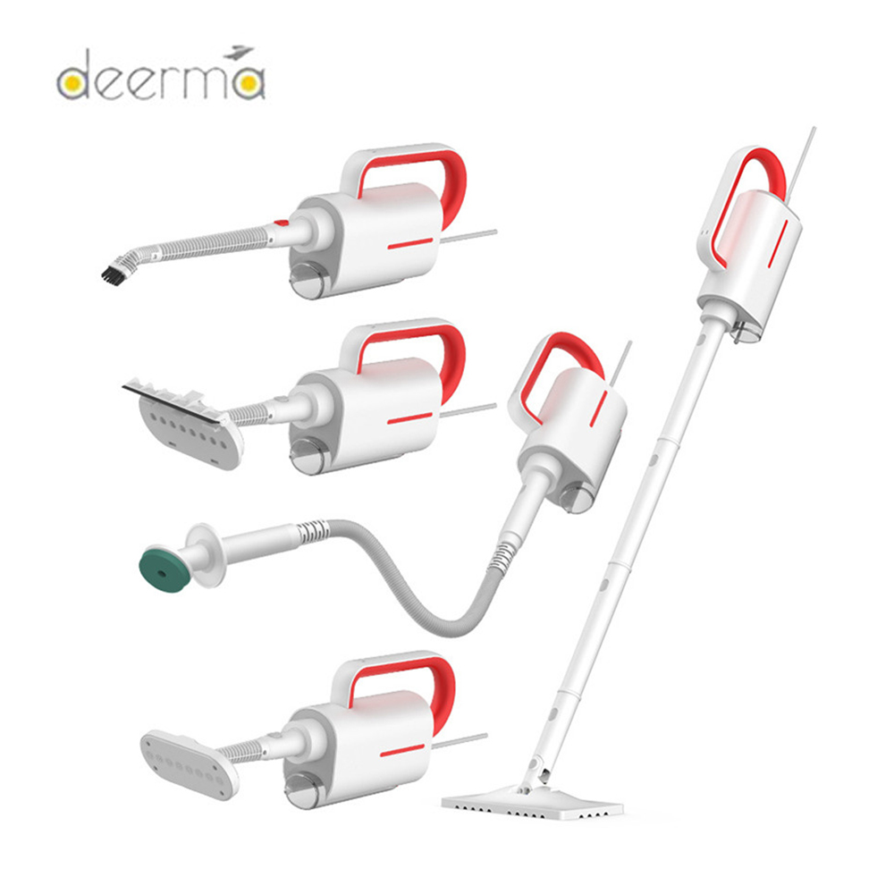 Original Deerma DEM-ZQ610 Handheld Steam Cleaner Steam Mop Cleaner Multifunctional Sterilization Anti-Dry Detachable Water Tank