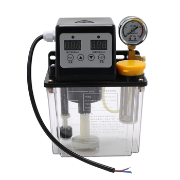 1PC 220V 1L 2L Automatic Lubricating Oil Pump CNC Lathe Machine Lubricator Electric
