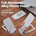 Universal Adjustable Metal Desktop Stand Slim Phone Holder for IPhone 12 ProMax Xiaomi Tablet Phone Desk Stand Mount Support