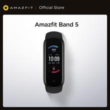 2020 neue Amazfit Band 5 Smart Armband Farbe Display Herz Rate Fitness Tracker Wasserdichte Bluetooth 5,0 Sport Smart Armband