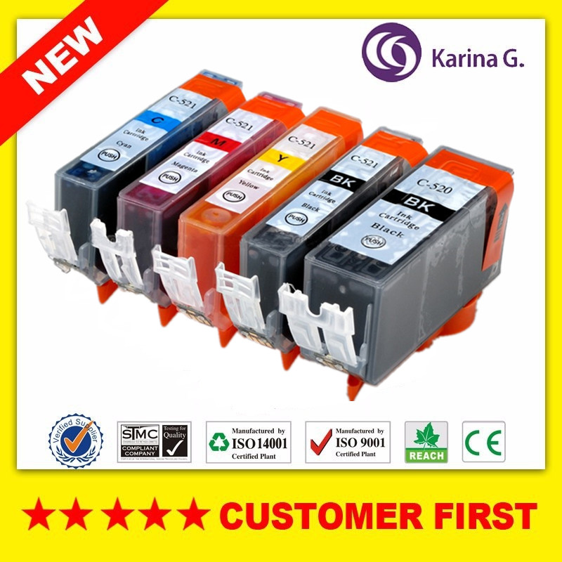 Compatible For <font><b>Canon</b></font> PGI520 CLI521 <font><b>Ink</b></font> <font><b>Cartridges</b></font> Suit For <font><b>Canon</b></font> PIXMA MP550 MP560 MP620 <font><b>MP630</b></font> MP640 MP980 MP990 etc. image