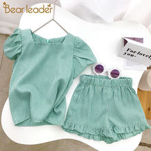 Bear leader/комплекты одежды для девочек 2021 г Летняя детская