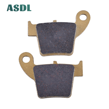Motorcycle Rear Brake Pads For Honda CR 50 125 150 230 250 CRF 150 250 450 230 250 450 CRE 50 125 250 450 CRM 50 125 250 image