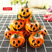 Artificial Pumpkins Creative Lifelike Simulation DIY Craft Festive Wedding Halloween Party Home Decor