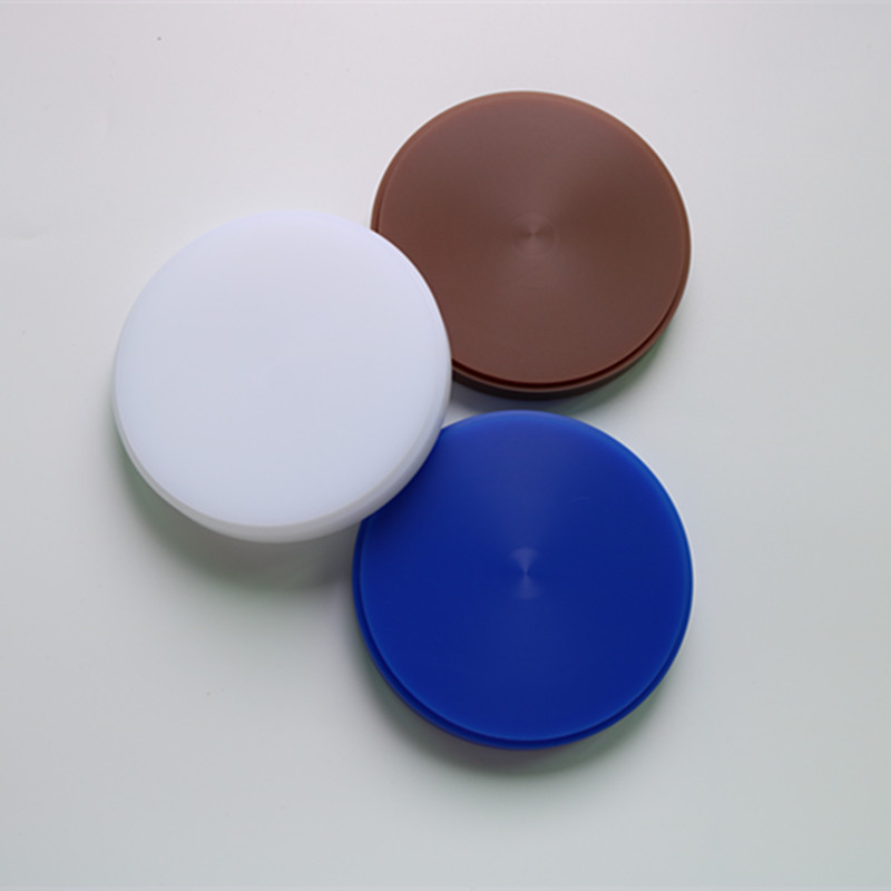 2 Pieces Dental Blue Wax Blocks Carving Brown Wax Blank White Wax Disc OD98*10/12/14/16/18/20MM