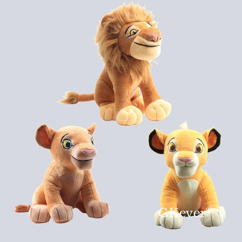 26-28 Cm Simba Nala Mufasa The Lion King Plush Toys Doll 10cm Lying Simba Doll Stuffed Tiger Lion Animals Toys Children Boy Gift