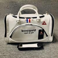 2021 neue Golf Tasche Sport Kleidung Tasche Freizeit Reise Handtasche Wasserdicht und Staubdicht Schuh Tasche PU Material