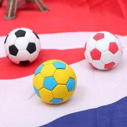 Große Fußball Fußball Bleistift Radiergummi Kinder-Learning Tool DIY Kreative Neue Radiergummi Schreibwaren Geschenk Dekoration