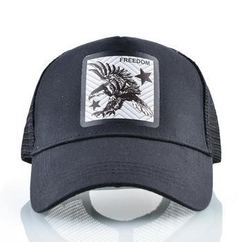 Mesh Baseball Cap Men's Dad Hat Women Breathable Snapback Caps Summer Visor Hat Freedom Fashion Hip Hop Trucker Baseball Gorras 2